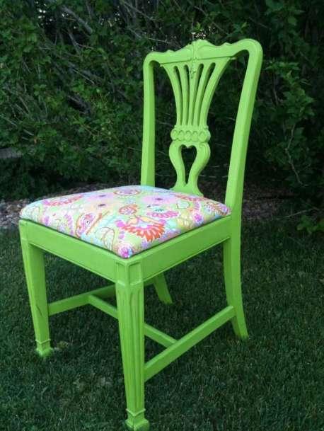 CeCe Caldwells Spring Hill Green Chair