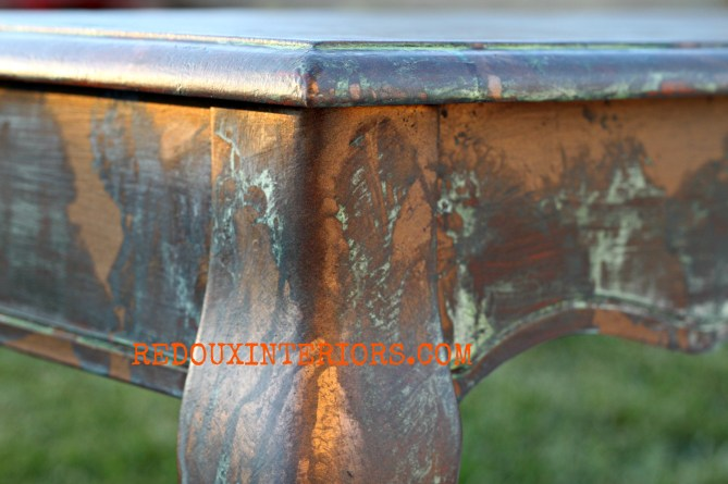 Copper Patina Redouxinteriors