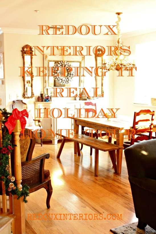 Christmas Dining Room Label Redouxinteriors