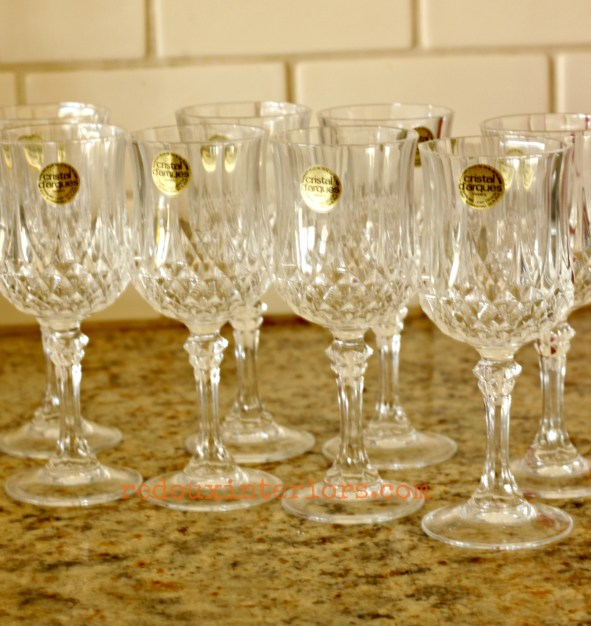 Chrystal Glasses Dumpster found redouxinteriors - Copy