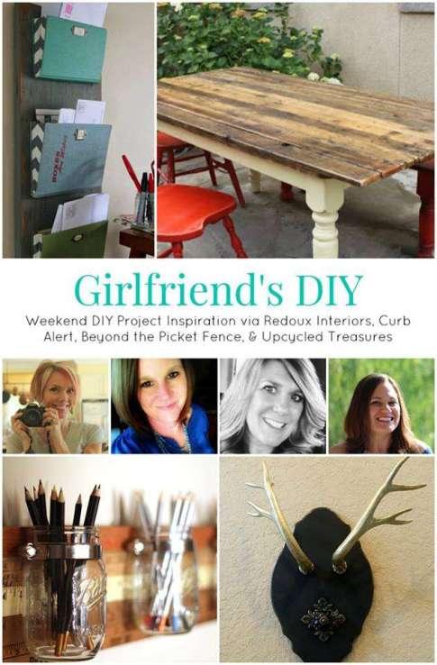 Girlfriends DIY Share Week 4 Redouxinteriors