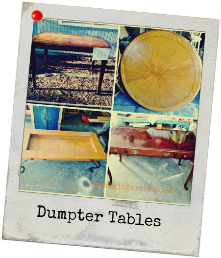 Dumpster Table collage redouxinteriors