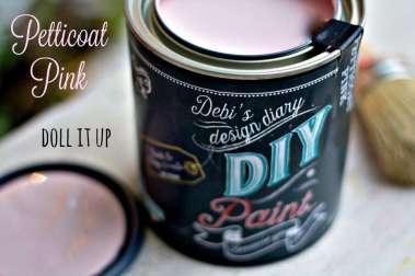 petticoat-pink_Debis DIY Paint