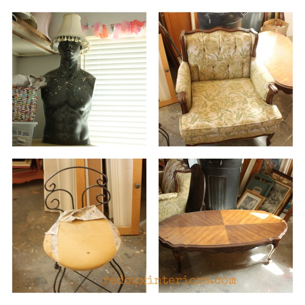 Collage of Junk redouxinteriors