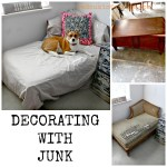 Dumpster found Chaise Lounge coffee table redouxinteriors