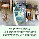trashy tuesday even the boat redouxinteriors