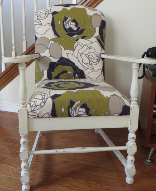 upholstered chair beckwithtreasures