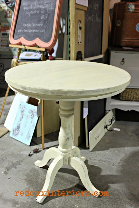 Dumpster Table makeover Myrtle Beach Sand redouxinteriors