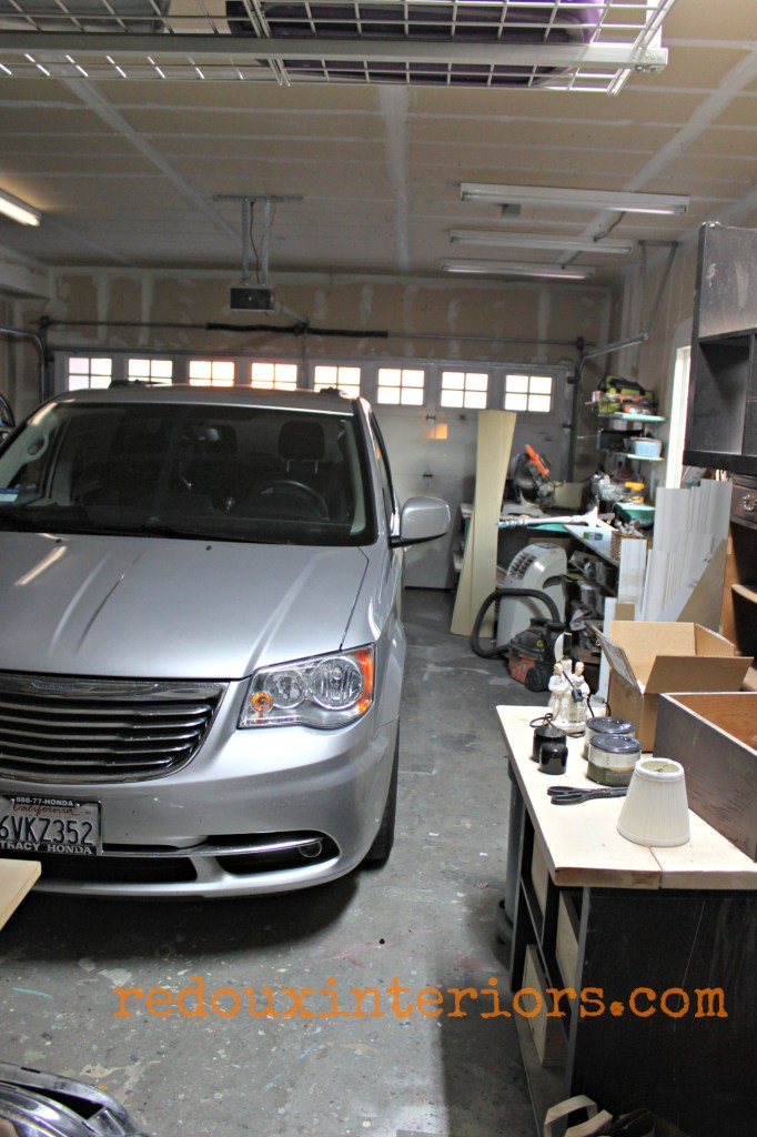 Garage clean out car in redouxinteriors