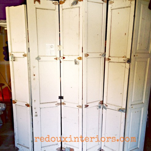 garage panel screen door redouxinteriors