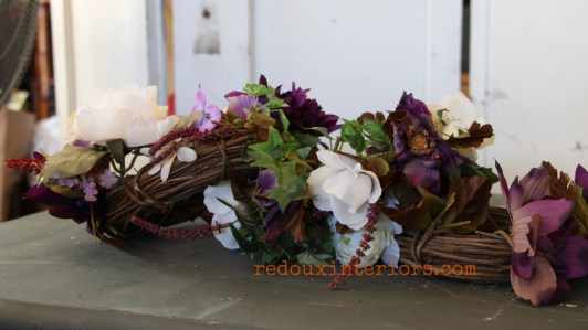 dumpster found grapevine mini wreaths redouxinteriors