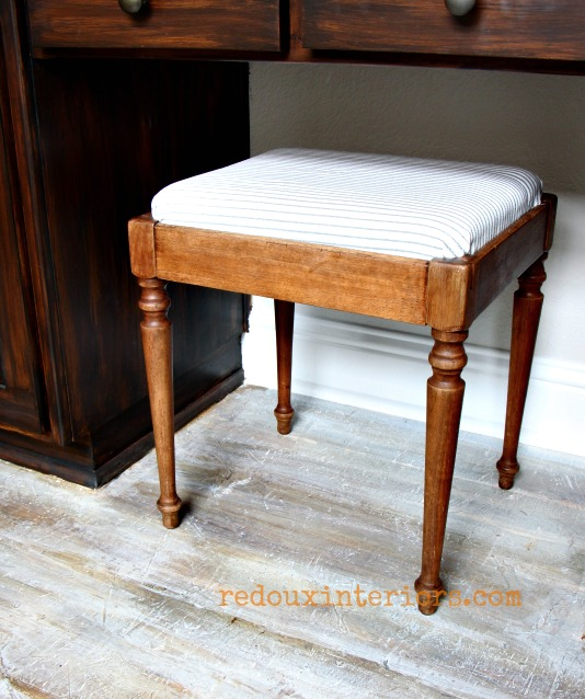sewing stool upcycled cece caldwells stains redouxinteriors