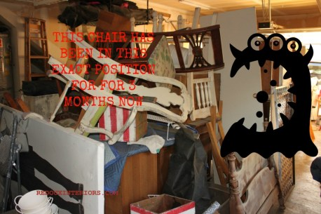 Garage filled with junk redouxinteriors