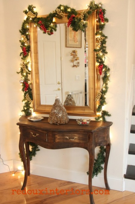 Holiday Home Tour Redouxinteriors Christmas Entry