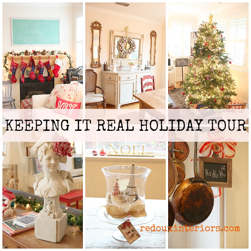 Keeping it real holiday home tour redouxinteriors 2014