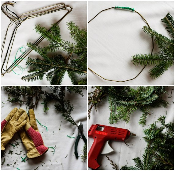 evergreen wreath ingredients
