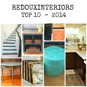 Redouxinteriors Top 10 DIY Projects 2014