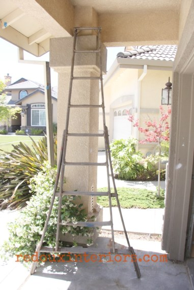big wood ladder old dumpster dive trashy tuesday redouxinteriors
