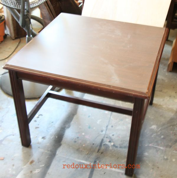 coffee table dumpster find redouxinteriors