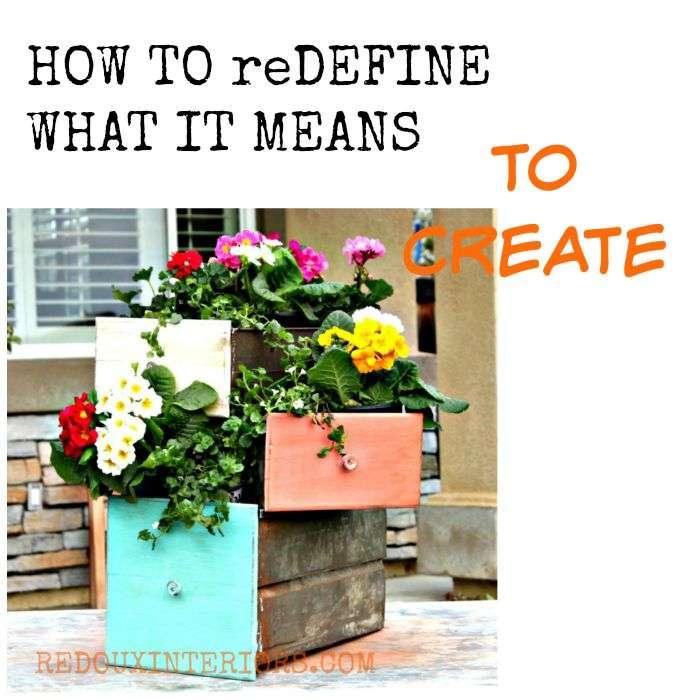 Redefine create