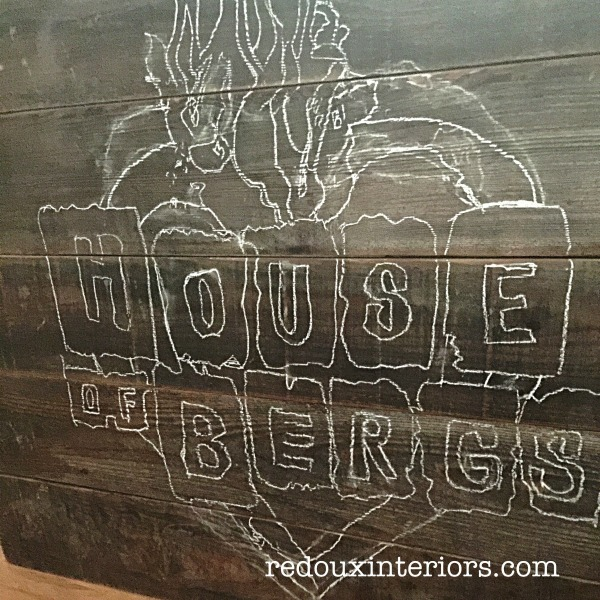 DIY reclaimed wood sign how to chalk redouxinteriors