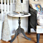 Free Side table DIY Paints polka dots redouxinteriors