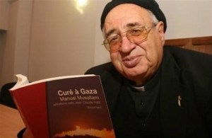 Father Manuel Musallam, pastor of the Catholic Church in Gaza,