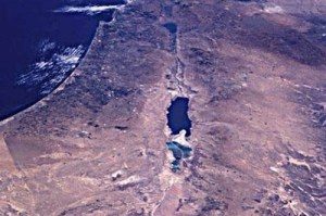 Aerial view of Palestine