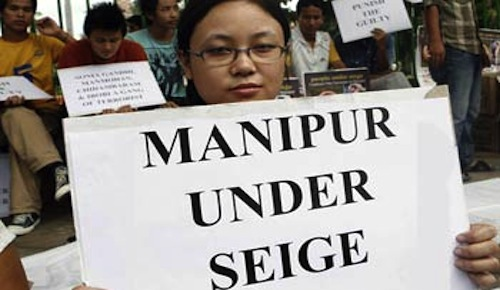 Manipur protest