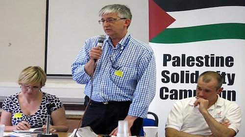 Stephen Sizer at Palestine Solidarity Campaign