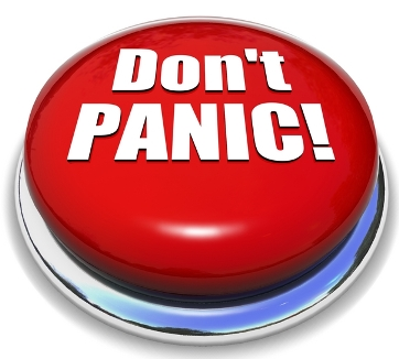 Dont panic radio button