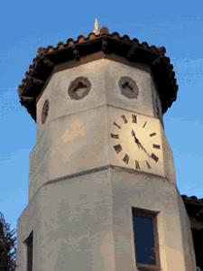 Time Clock on 2nd Street in Belmont Shore Long Beach-225x300