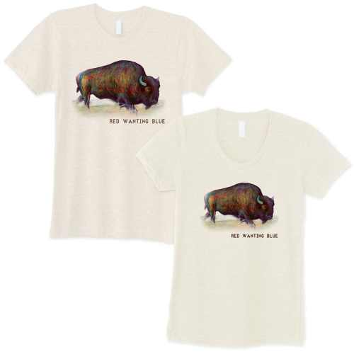 Red Wanting Blue Buffalo Shirt