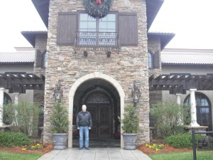 Me at Childress Vineyards
