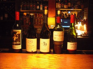 The wines at 6th & Vine