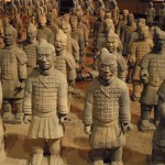 Terra Cotta Soldiers inside the China Pavillion at EPCOT