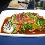 A messy tuna dish