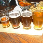 Alex's beer flight