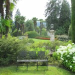 The gardens at the Borromees