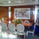 Aboard the Grand Barossa