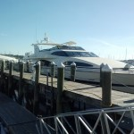 Grand Barossa at the dock