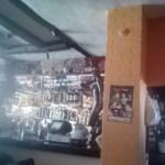The bar at the Squealing Pig