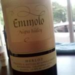 Emmolo 2012 Merlot