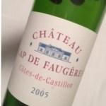 2005 Cap de Faugeres