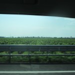 Flat land on the Italian side