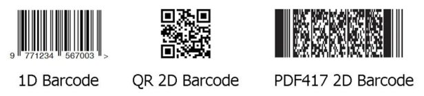 sample of barcode use for Barcode Readers