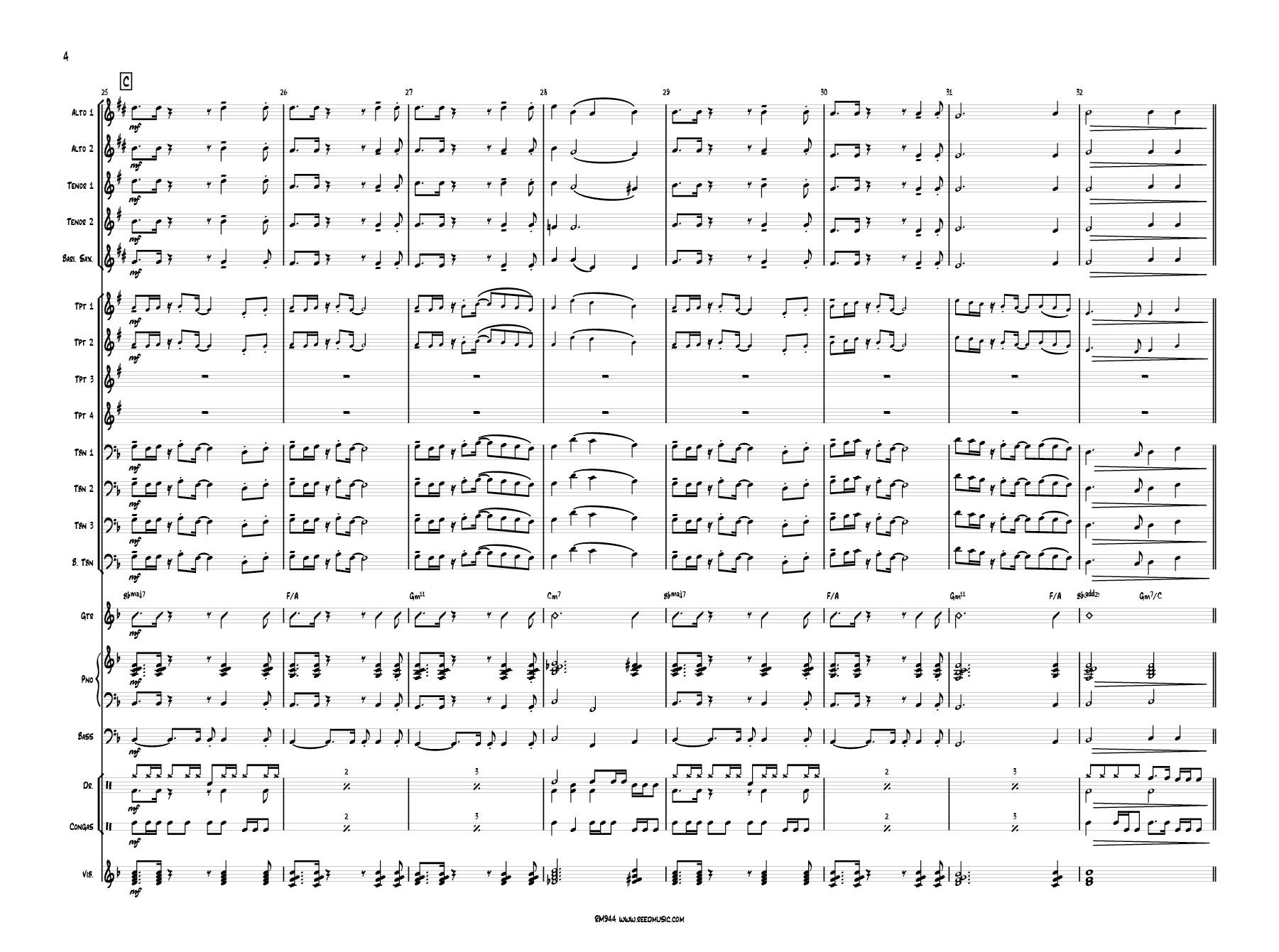 Sunshower  Reed Music # Sunshower Names_035648