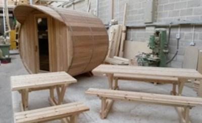 Garden Decking Furniture