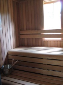 Private Sauna 8 Inside