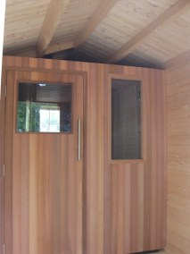 Private Sauna 8 Outside